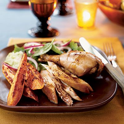 Cider-Roasted Chicken