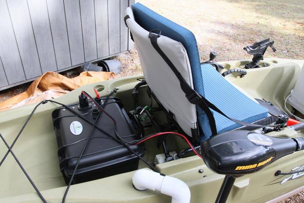 this is a 12v, 40ah lifepo4 bioenno battery i put in my hobie Battery Gauge Wiring kayak battery wiring diagram