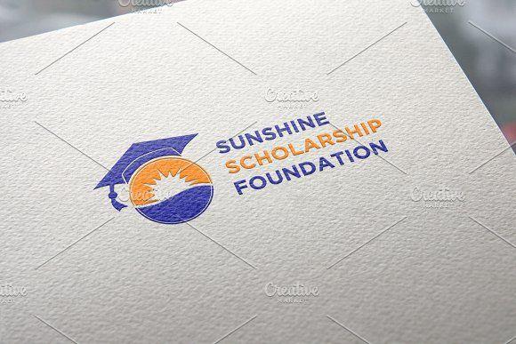 Sunshine Scholarship Logo Template | Logo templates, Logo ...