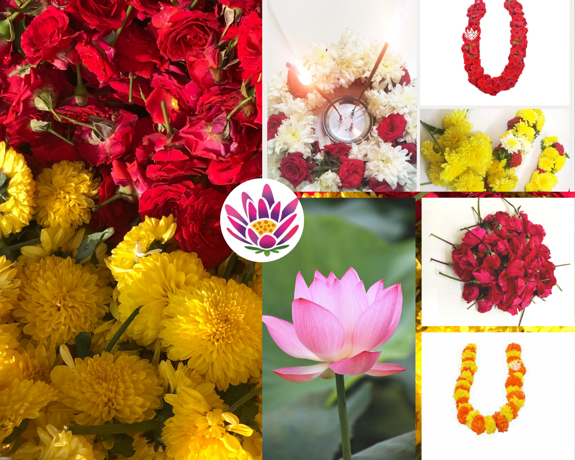 Subscribe Puja Flowers Subscription Service In Bangalore Flowers Delivered Flowers Garland