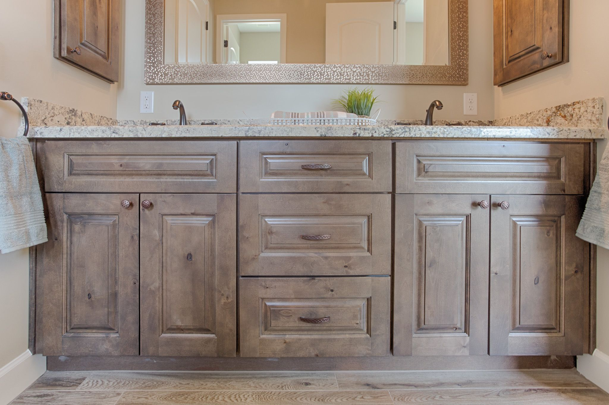 Grey Ash Wood Kitchen Cabinets - Kitchen Ideas