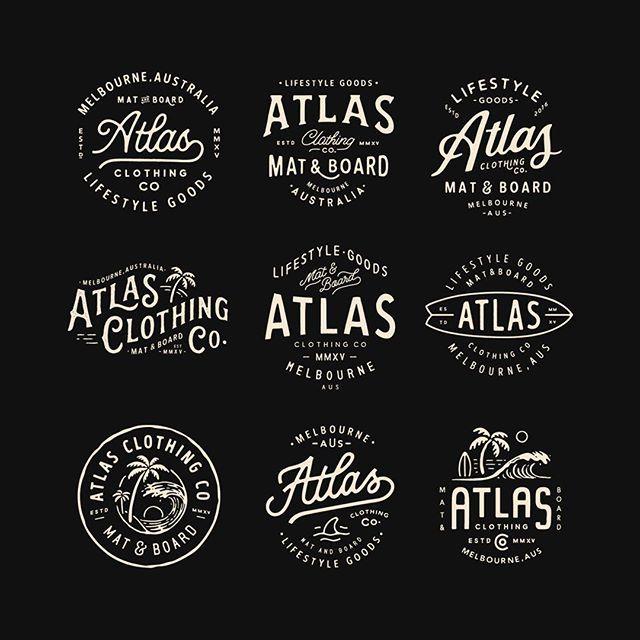 Style Exploration Branding Logo Tropical Surf Clothingline Apparel Vintage Graphicdesign Vintage Logo Design Branding Design Logo Letter Logo Design
