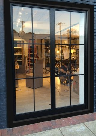 FireRock partners with Bessemer Glass  also based out of Birmingham     FireRock partners with Bessemer Glass  also based out of Birmingham   Alabama  to provide a stylish French door to local Mountain Brook resident