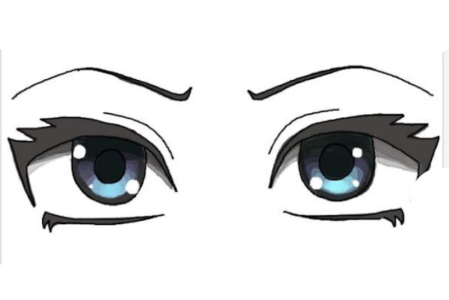 رسم انمي سهل وكيوت رسم عين انمي سهله رسم سهل وبسيط Disney Characters Character Fictional Characters