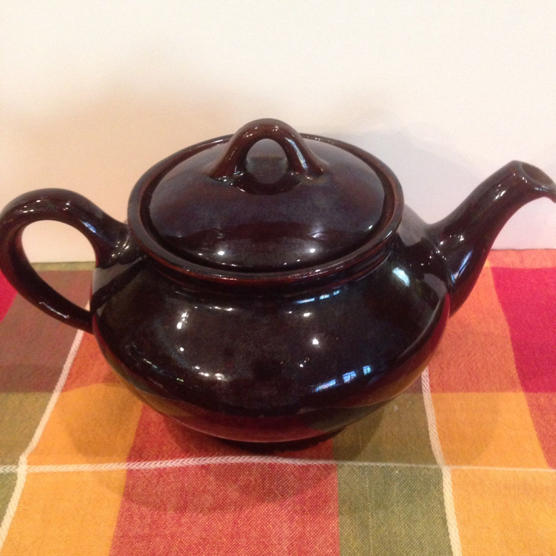 Royal Canadian TeapotArt PotteryBrown Betty Hot TeaTableware1960s & Royal Canadian TeapotArt PotteryBrown Betty Hot TeaTableware ...