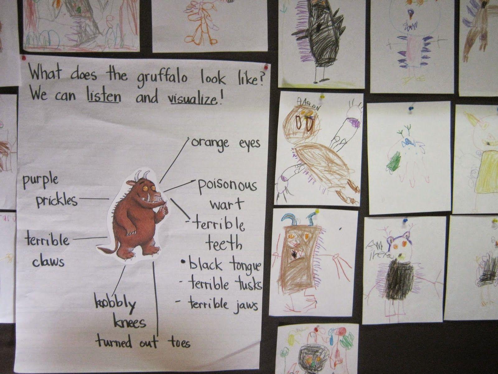 The Gruffalo Visualizing Details Retelling And Free