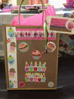 Birthday Girl Gift Bag.