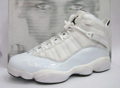 six rings jordans white