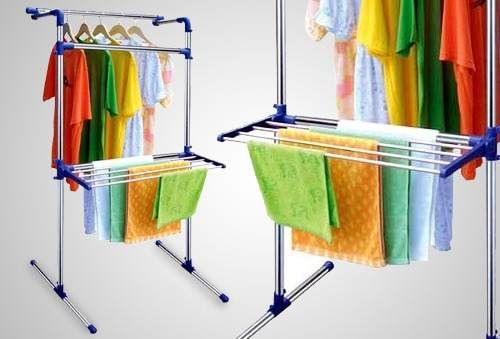 Tendedero de ropa multifuncional cuarto de lavado for Tendedero ropa exterior