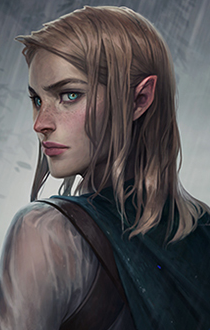 F Half Elf Rogue Thief Portrait Community Ng Znalezione Obrazy Dla