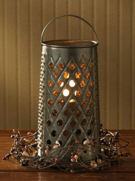 What a great lamp! Check out Primrose Primatives for details!