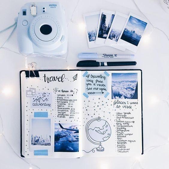 Wander List #blueaesthetic