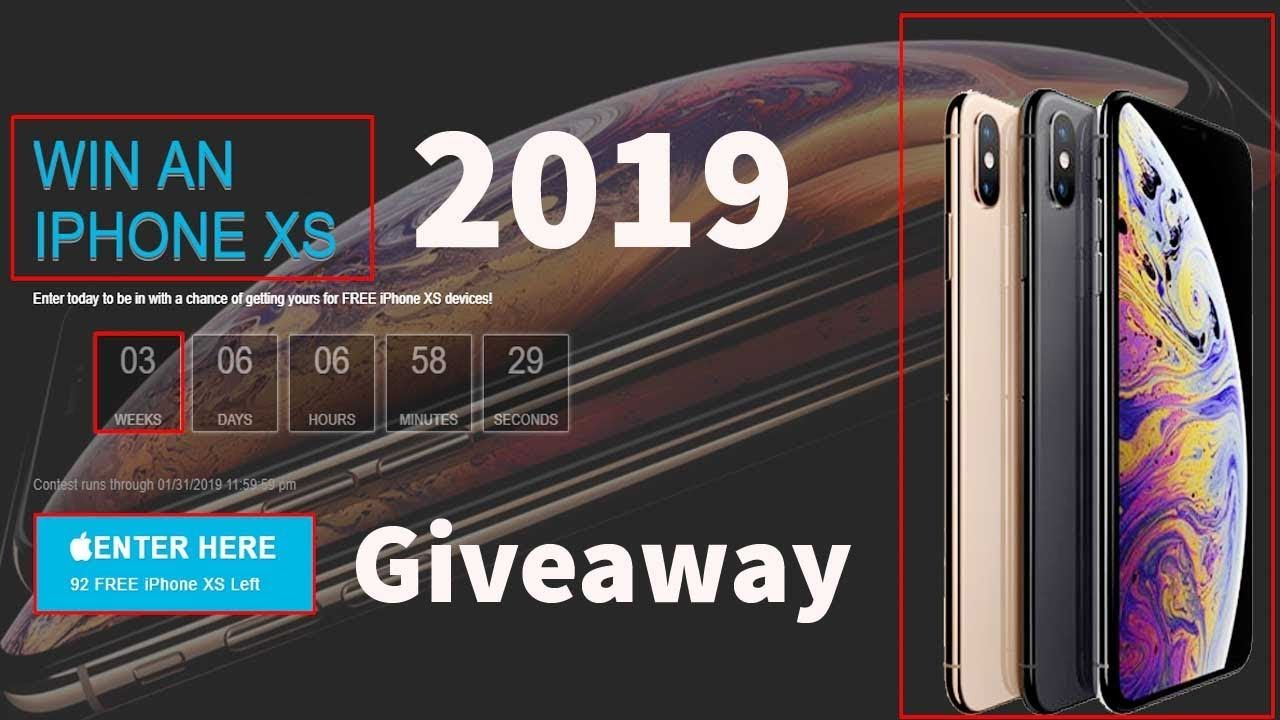 How to get iphone xs for free 2019 - free iphone xs max [New
