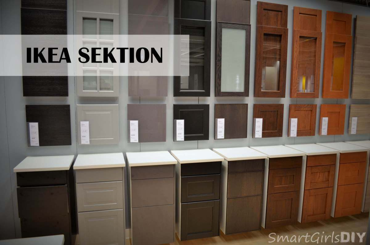 Sektion what i learned about ikea s new kitchen cabinet line the first day loft living - Ikea beech kitchen cabinets ...