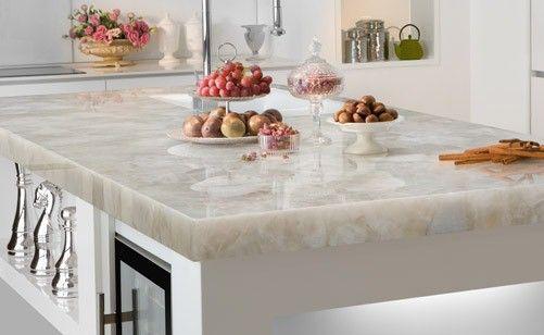 Moderne Kuchentheke Arbeitsplatte Marmor Ideen Rund Ums Haus
