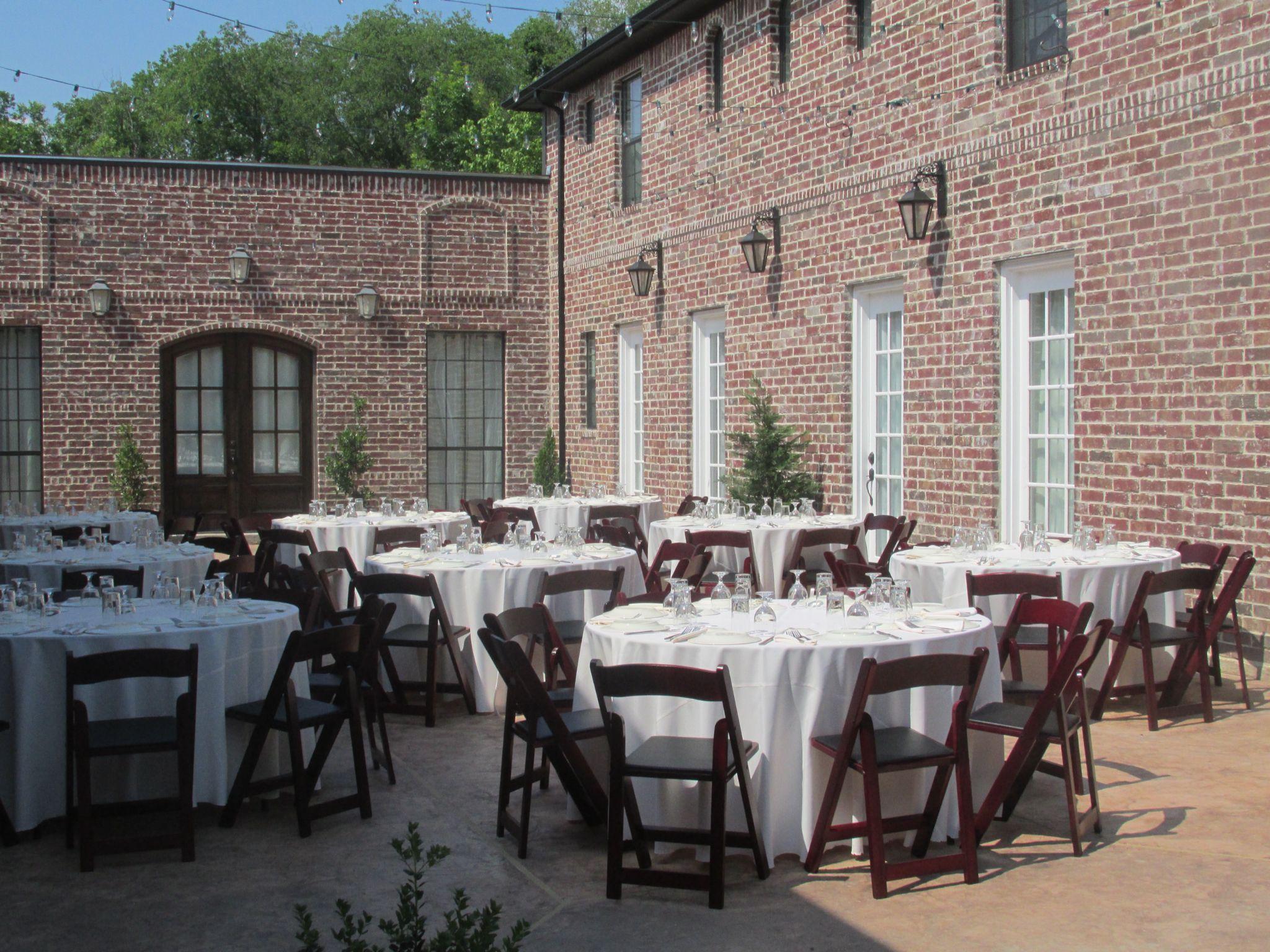 Courtyard Dining La Cour Venue McKinney Event