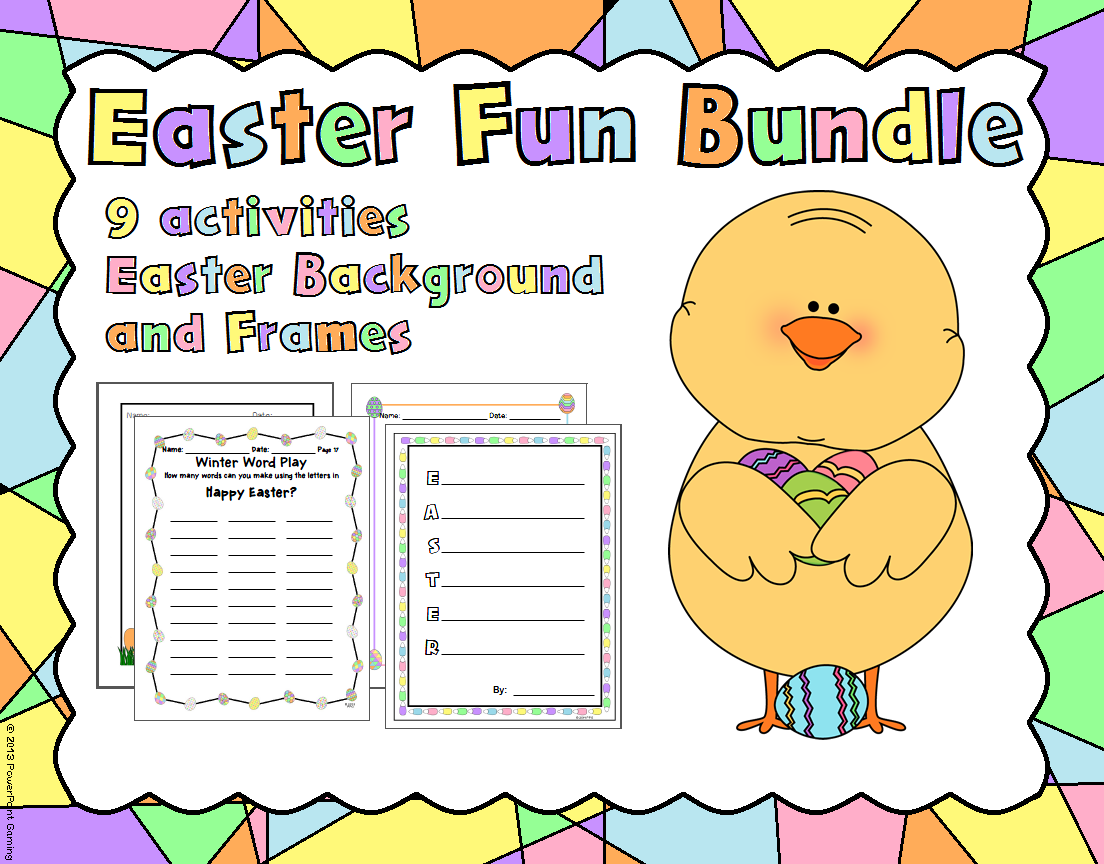 This Easter Holiday Bundle Includes Lots Of Fun Easy