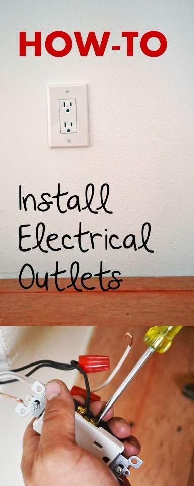 How To Install Electrical Outlets From Ana White.com