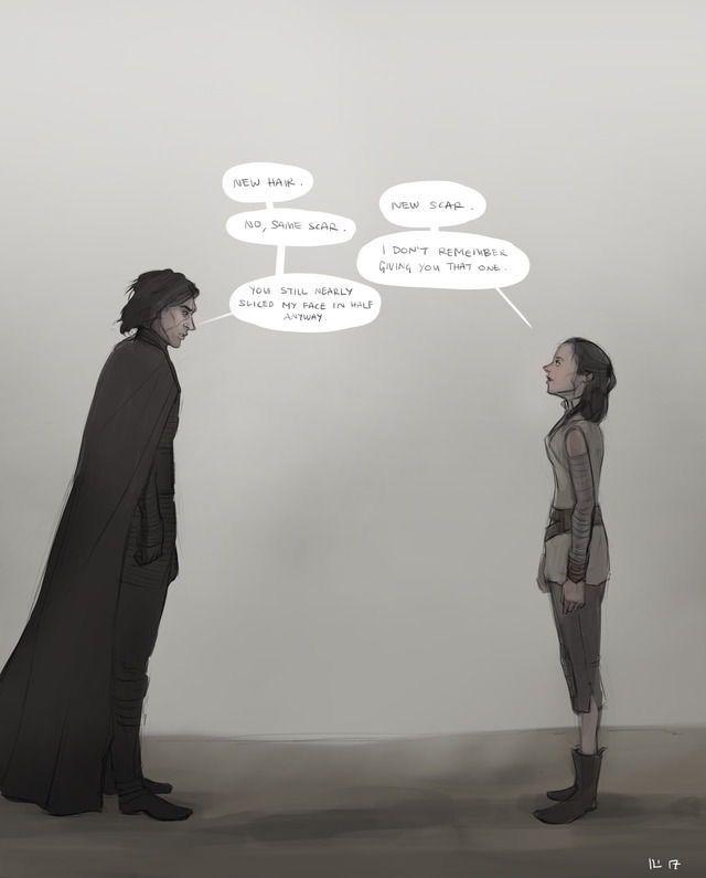 Rey Kylo Ren Ben Solo Reylo Fanfiction Star Wars Ships Star Wars Fandom Star Wars Art