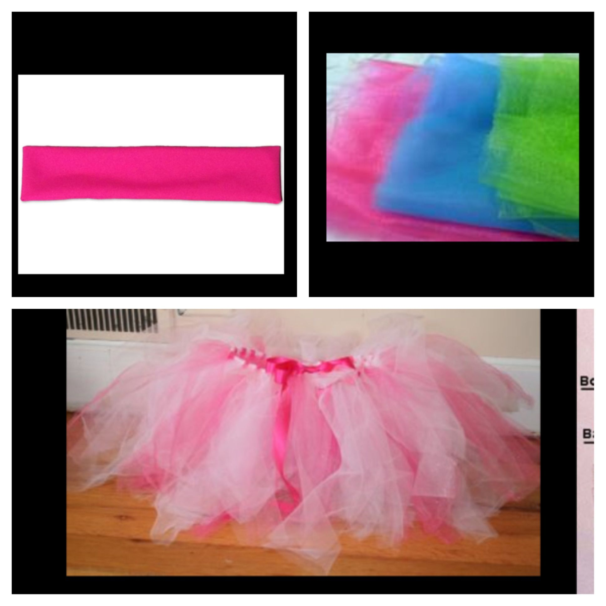 2398e4062d97 Ok my dance teacher mrs. Kirby taught me how to make tutus! So first ...