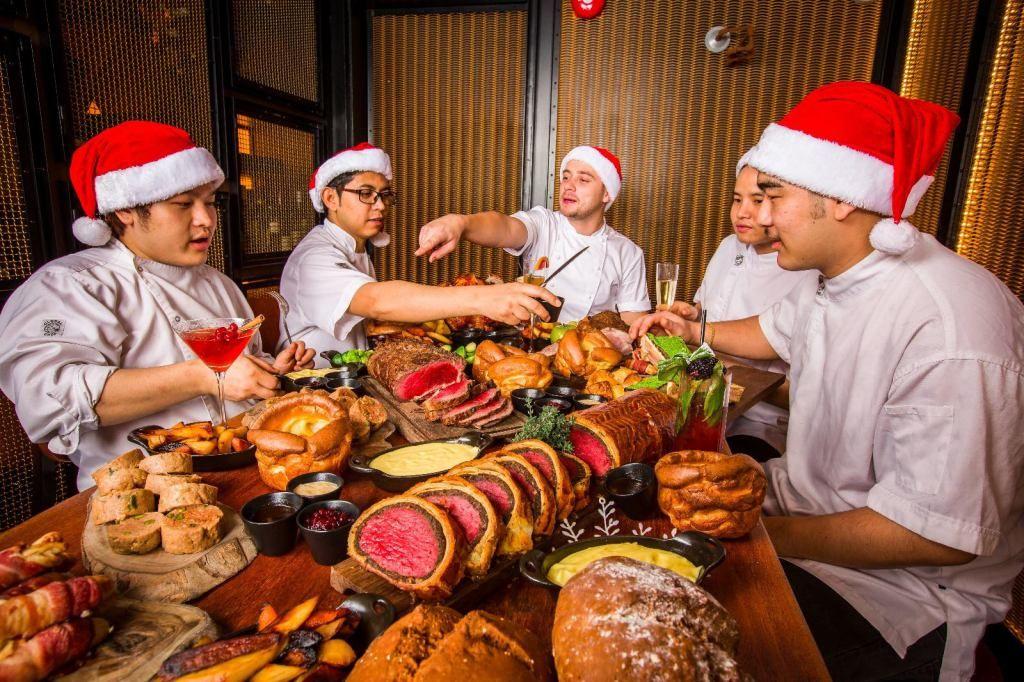 Gordon Ramsay Christmas Dinner.Gordon Ramsay Bread Street Kitchen Christmas Dinner Fine