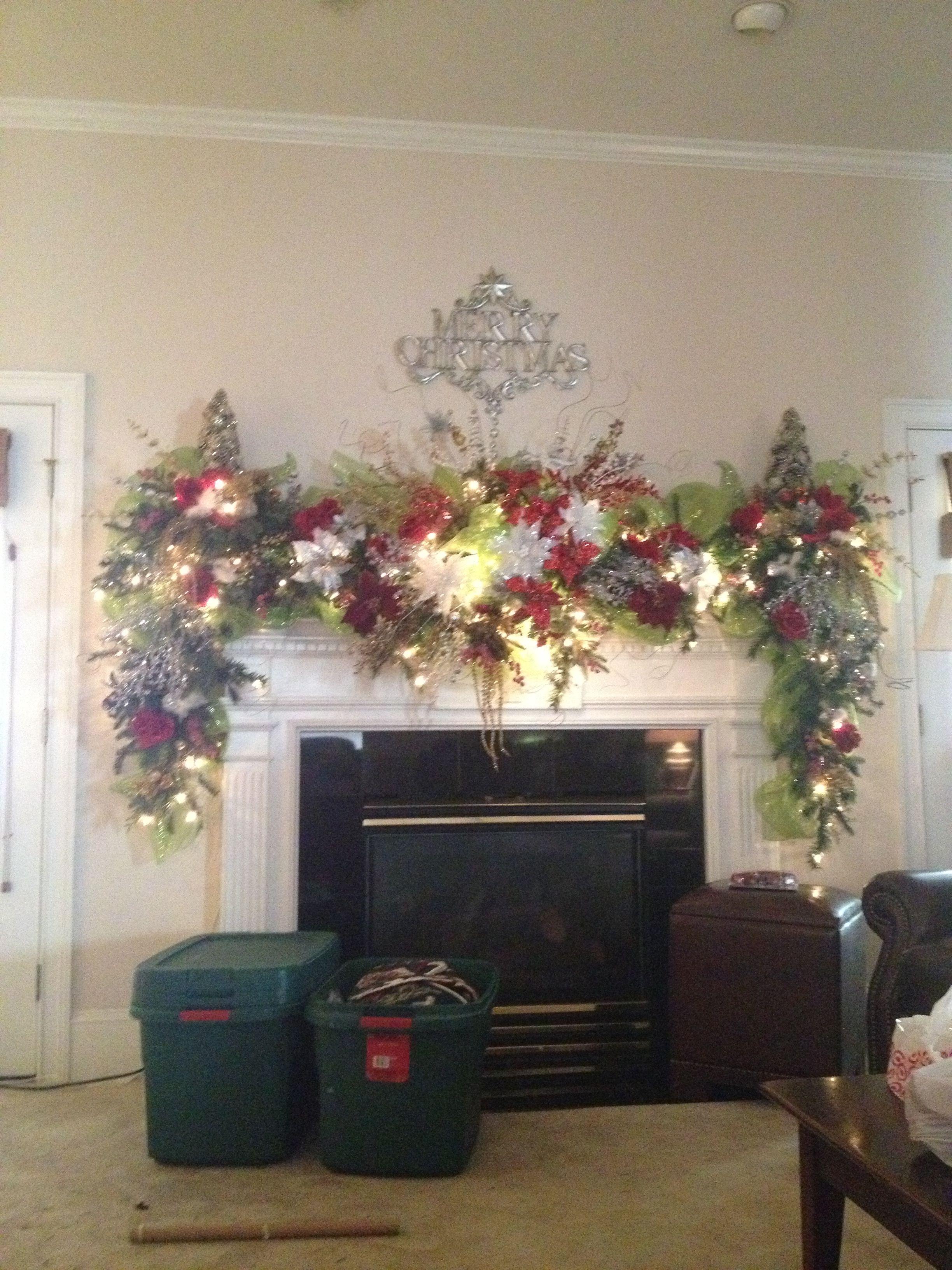 Holiday Decoration | Christmas mantels, Holiday decor, Holiday
