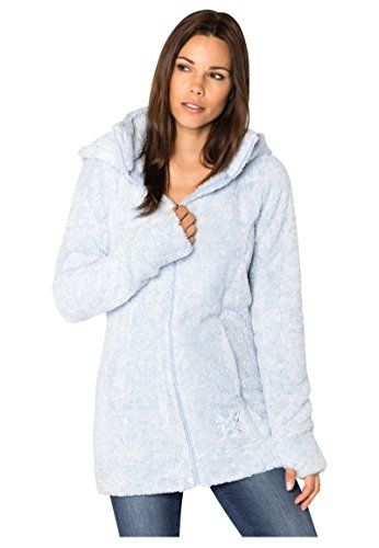Sublevel damen teddy fleece mantel