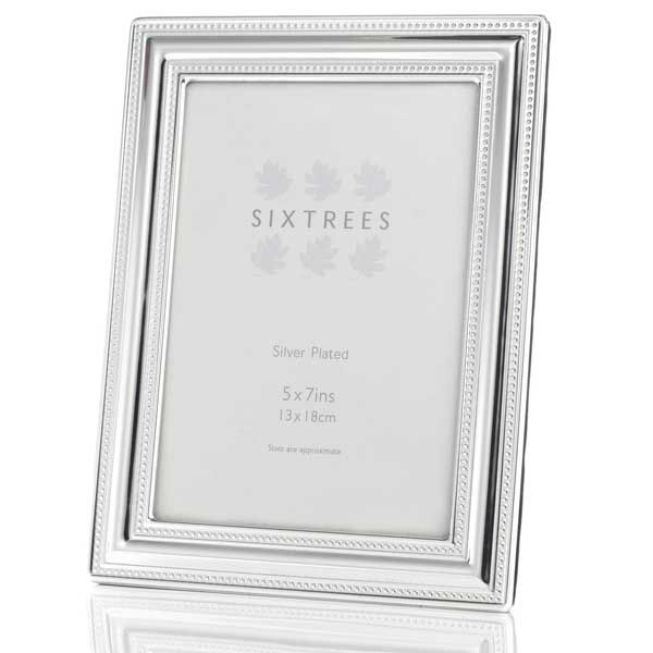 St Clement Silver Plated 5 X 7 Photo Frame Photo Frame Frame St Clement