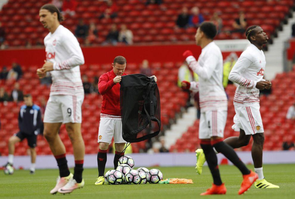 Mourinho vraker Rooney mot Leicester Wayne rooney, Old