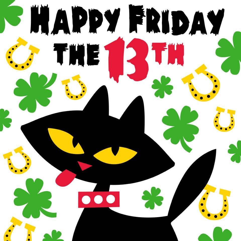 happy friday the 13th fourleafclovers paul frank black