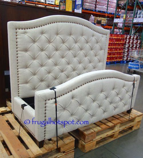 Costco Pulaski Furniture Queen Upholstered Bed 499 99 Queen