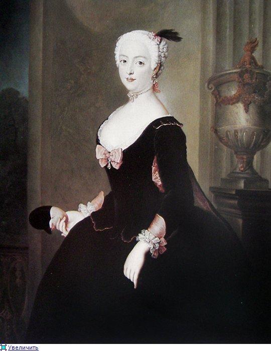Coiffures du 18ème siècle en images Antoine Pesne