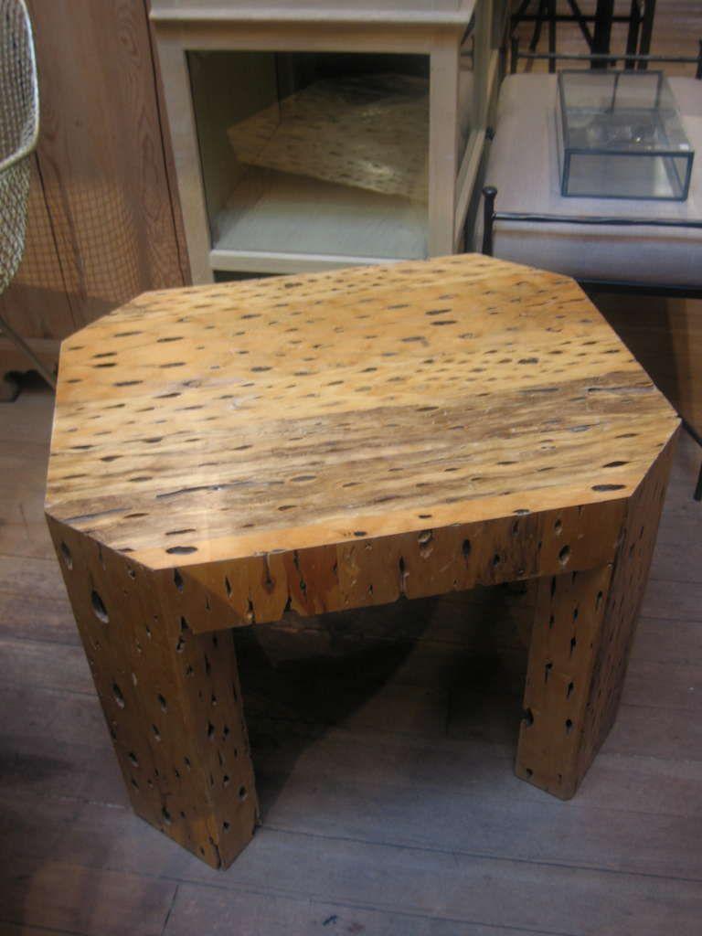 Unusual Cactus Wood Side Table 1stdibs Com Vintage Side Table Side Table Side Table Wood [ 1024 x 768 Pixel ]