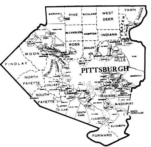 Allegheny County Pennsylvania Genealogical Society Of Pa Allegheny County Genealogy Family History Book