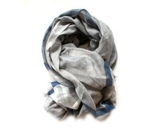 Scarf - Grey/blue - Glen Prince