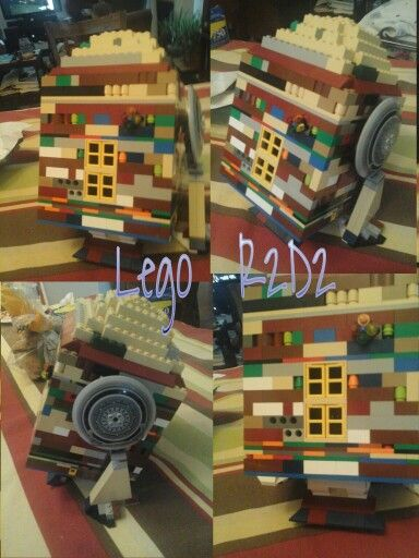 This my first lego R2D2 so it is not the best out there. The shape ...