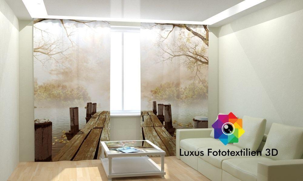 fotogardine 3d g nstige fotogardinen online kaufen. Black Bedroom Furniture Sets. Home Design Ideas