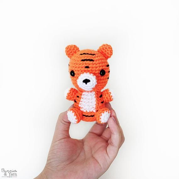 CROCHET PATTERN in English - Tiger - Baby #9 - Babies Collection ...