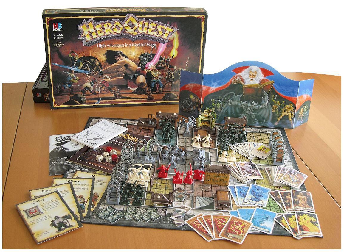 Hero quest board game board games all my favorites rpg board games board games classic - Dungeon gioco da tavolo ...