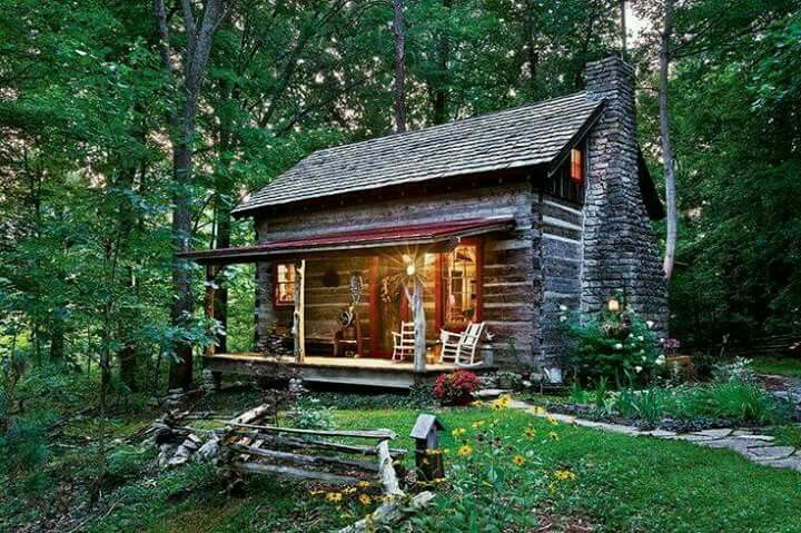 Little Cabin In The Woods Country Log Cabin Homes