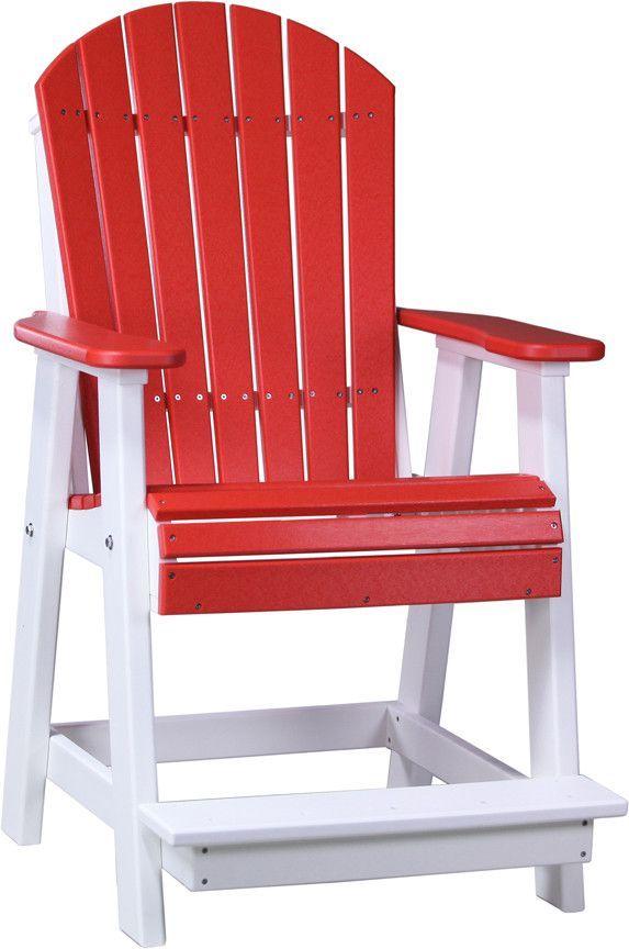 LuxCraft Adirondack Balcony Chair
