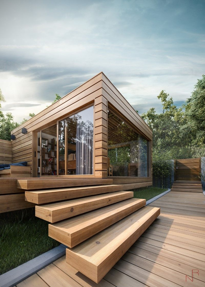 Romas Noreika's personal project for a summer house #architecture #house