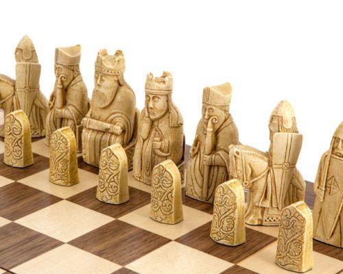 Isle Of Lewis Chess Set With Board Huge 20 034 X 20 034 Gf037 Ambassador Deluxe New Chess Board Chess Chess Set