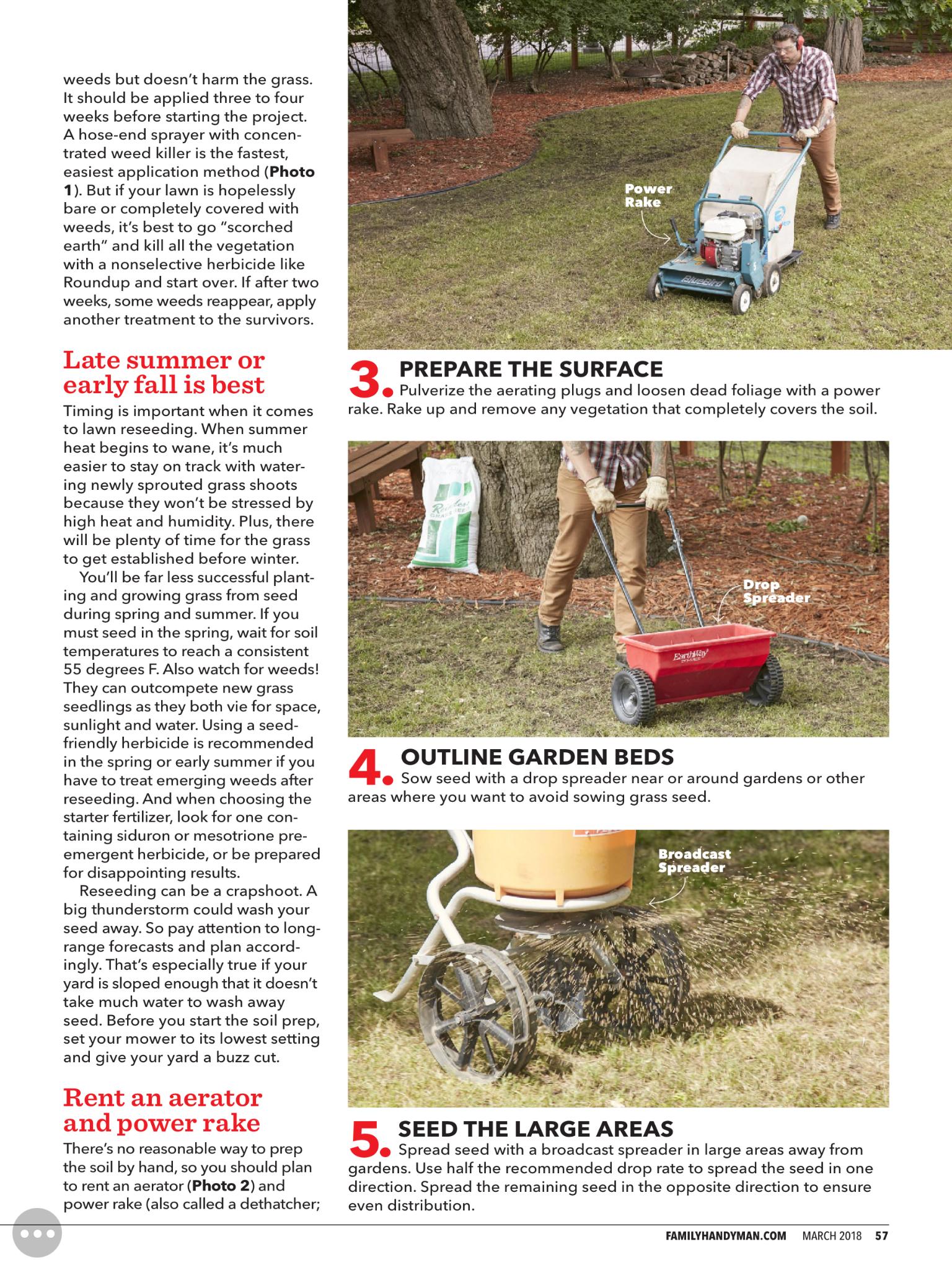 Lawn Restoration 3 Of 5 With Images Lawn Restoration Herbicide Vegetation