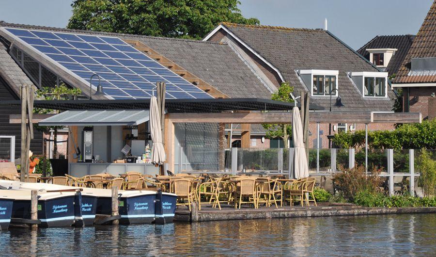 Horecapaviljoen Nieuwkoop,  zie http://www.willersarchitectuur.nl/horeca-uitgiftebalie