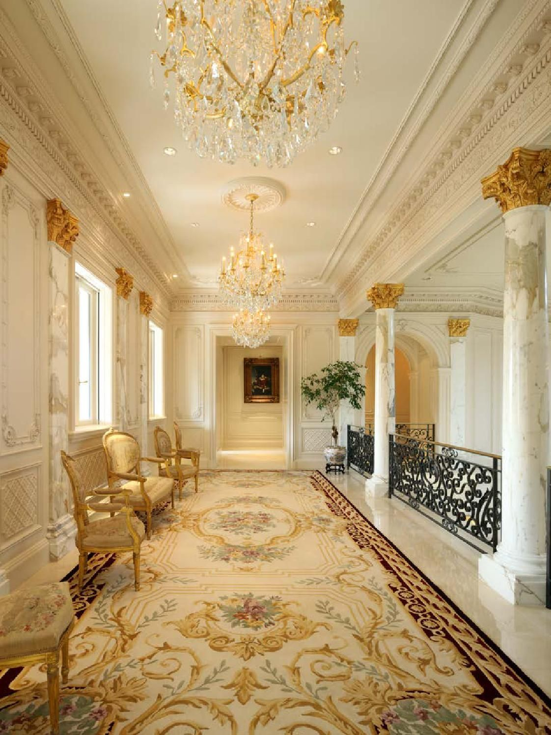European Neo-classical Style II | Mansion interior, Luxury ...