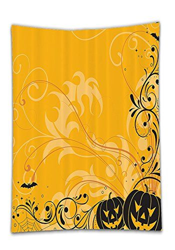 Chaoran Tablecloth Halloween Decorations Set by Carved Pumpkins with - patterns for halloween decorations