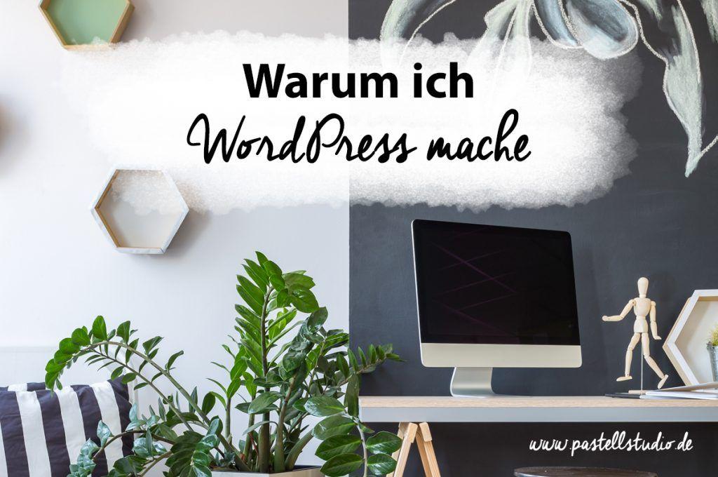 Vor- und Nachteile von WordPress, wie du selber deine WordPress Seite machst, welche Extras es gibt und warum WordPress so viel Pflege braucht.