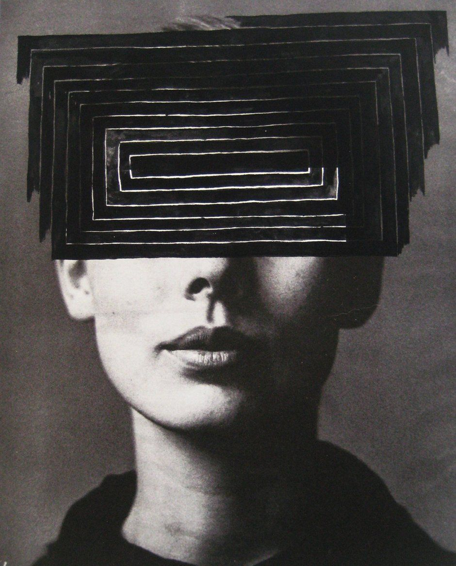Toni MacKinnon (b.1967, based Auckland, New Zealand) - Stella, 2010. Gouache, Digital Print on Paper. °
