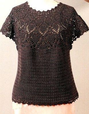Платье туника с круглой кокеткой